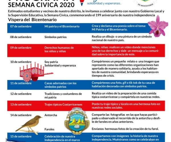 Actividades de la semana cívica 2020
